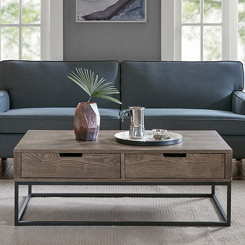 Madison Park Becca 2-Drawer Coffee Table