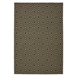 StyleHaven Mainland Diamond Panel Geometric Indoor Outdoor Rug