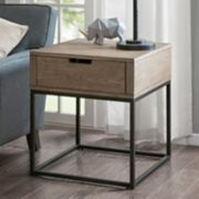Madison Park Becca 1-Drawer End Table