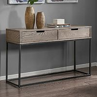 Madison Park Becca 2-Drawer Console Table