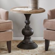 Madison Park Hemlock Pedestal End Table