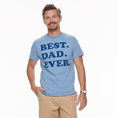 Men's Dad & Me Best Dad Ever Graphic Tee