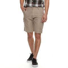 Men's Burnside Microfiber Cargo Shorts