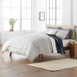 SONOMA Goods for Life® Edendale Woven Stripe Duvet Cover Set