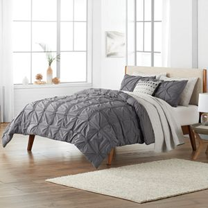 SONOMA Goods for Life Fallon Pleated Comforter and Sham Set