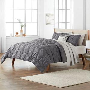 SONOMA Goods for Life® Fallon Pleated Duvet Cover Set