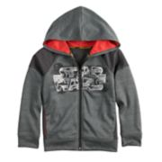 Boys 4-8 Star Wars a Collection for Kohl's Pieced Raglan Zip Hoodie