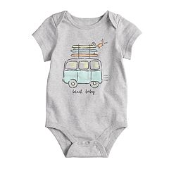 Baby Boy Jumping Beans® 'Beach Baby' Graphic Bodysuit