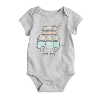 "Baby Boy Jumping Beans® ""Beach Baby"" Graphic Bodysuit"