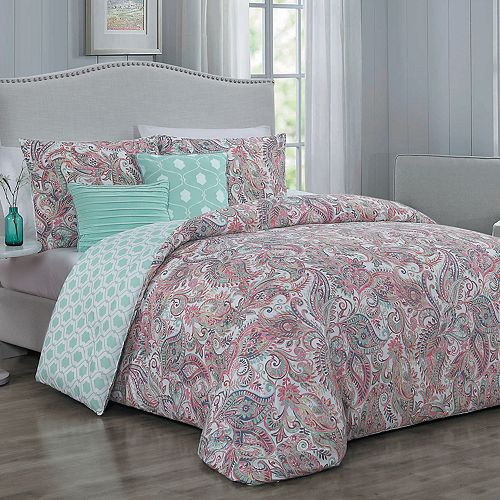 Blush Dominique 5-piece Comforter Set