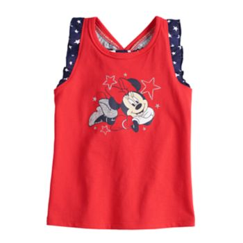 Disney's Minnie Mouse Baby Girl Patriotic Graphic Tank Top by Jumping Beans®
