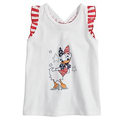 Disney's Daisy Duck Baby Girl Patriotic Graphic Tank Top by Jumping Beans®