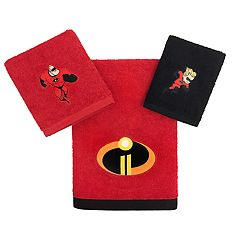 Disney / Pixar The Incredibles 3-piece Bath Towel Set