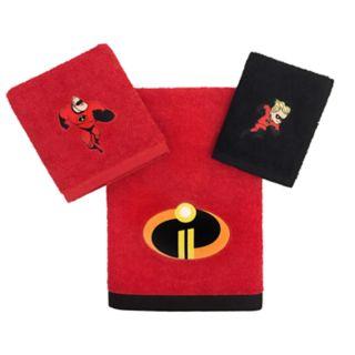 Disney / Pixar The Incredibles 3-piece Bath Towel Set