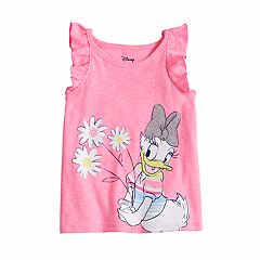 Disney's Daisy Duck Baby Girl Glittery Graphic Tank Top by Jumping Beans®