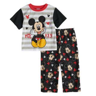 Disney's Mickey Mouse Toddler Boy Top & Bottoms Pajama Set