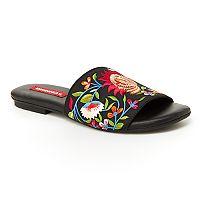 Unionbay Drama Women's Slide Sandals