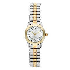 Sutton by Armitron Women's Two Tone Expansion Watch - SU/1008SVTT