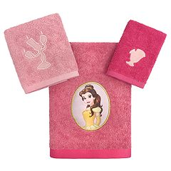 Disney Princess Belle 3-piece Bath Towel Set