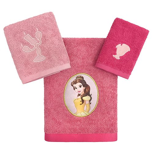 Disney Princess Belle 3-piece Bath Towel Set