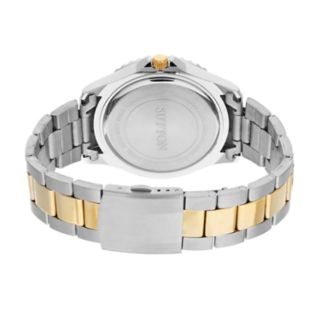 Sutton by Armitron Men's Two Tone Dress Watch - SU/5013BKTT