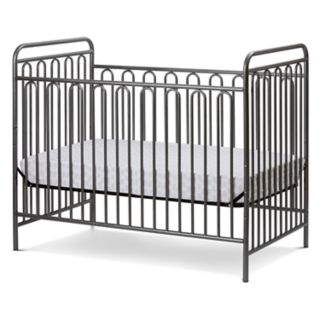 LA Baby Trinity 3-in-1 Convertible Full Sized Metal Crib