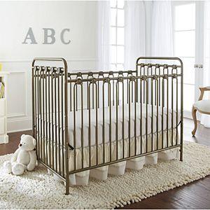 LA Baby Napa 3-in-1 Convertible Full Sized Metal Crib