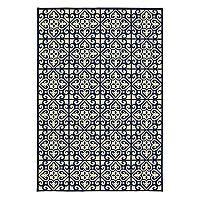 StyleHaven Mainland Ornate Tiles Indoor Outdoor Rug