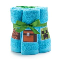 Minecraft 6-pack Washcloth Set
