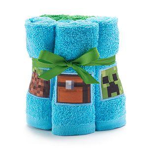 Minecraft 6-pack Washcloth Set