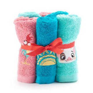 Disney's Moana 6-pack Washcloth Set