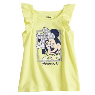 Disney's Minnie Mouse Baby Girl Glittery Graphic Tank Top by Jumping Beans®