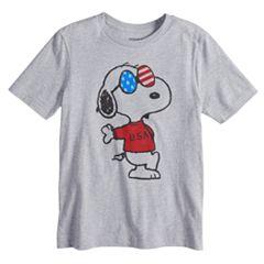 Boys 8-20 Peanuts Snoopy Cool Tee