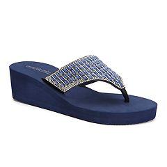 Olivia Miller Miramar Women's Wedge Sandals