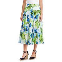 Petite Chaps Crinkle Skirt