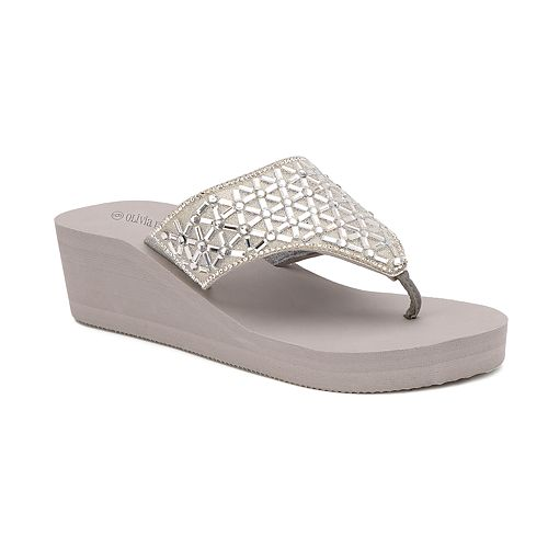 Olivia Miller Tavares Women's Wedge Sandals