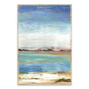 Artissimo Designs Waterfront I Canvas Wall Art