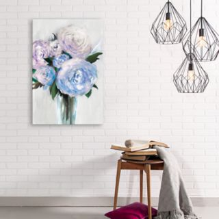 Artissimo Designs Beauty Within A Vase I Canvas Wall Art