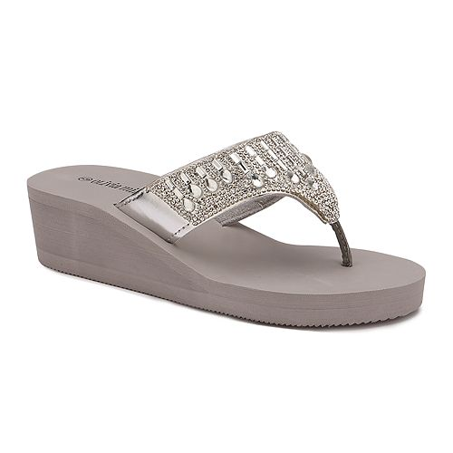 cheap online shop free shipping 2015 new Olivia Miller Pinellas Women's ... Wedge Sandals buy cheap amazon SIf73NdwAF