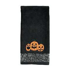 Celebrate Halloween Together  Pumpkins Hand Towel