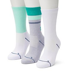 Women's Under Armour 3-Pack Graphic Print Crew Socks