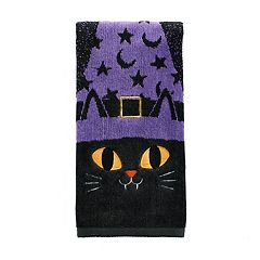 Celebrate Halloween Together  Cat Hand Towel