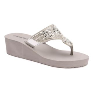 Olivia Miller Hawthorne Women's Wedge Sandals