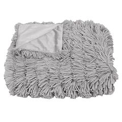 Thro Effie Long Pile Faux Fur Throw