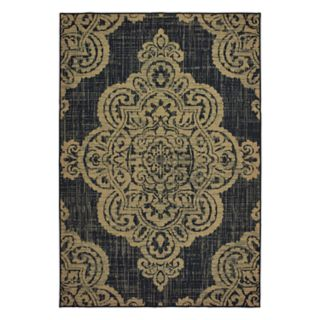 StyleHaven Mainland Medallion Lace Indoor Outdoor Rug