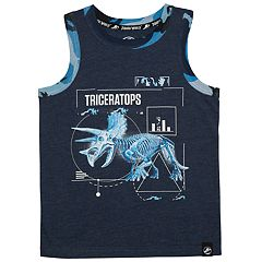 Boys 4-7x Jurassic World: Fallen Kingdom 'Triceratops' Dinosaur Graphic Tank Top
