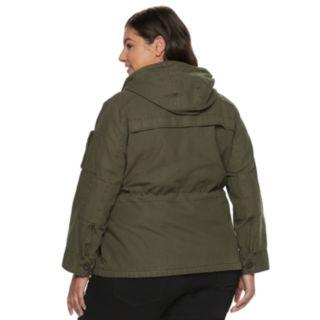 Plus Size Levi's® Anorak Military Jacket