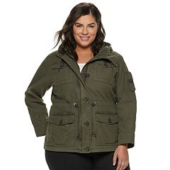Plus Size Levi's® Anorak Military Jacket