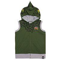 Boys 4-7x Jurassic World: Fallen Kingdom 3D Hooded Zip Vest