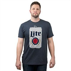 Big & Tall Fifth Sun Miller Lite Beer Can Graphic Tee
